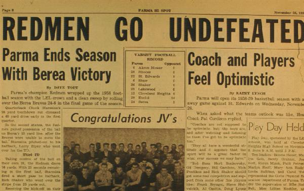 Redmen Undefeated paper
