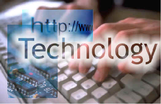 technology splash screen