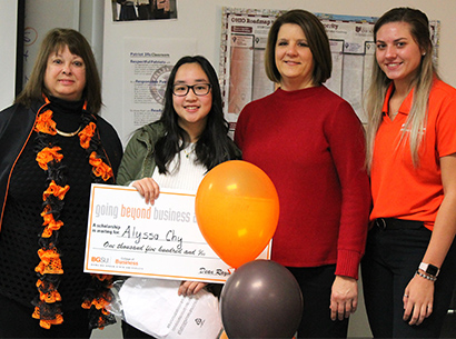 Allysa Chy wins Scholarship at Valley Forge