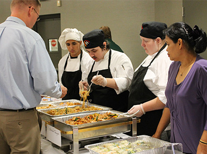 Taste of the Towns and Culinary Arts students