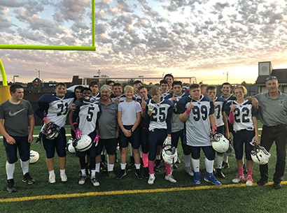 Valley Forge 8th Grade football team