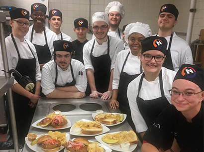 Normandy Culinary Arts students
