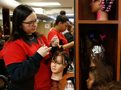Career Tech Cosmetology Class