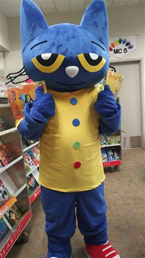 Pete the Cat at Ridge-Brook
