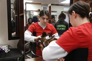 Cosmetology program at Normandy High School