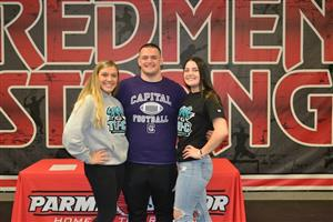 Parma High students signing national letters of intent