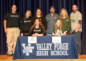 Valley Forge High School students at National Signing Day