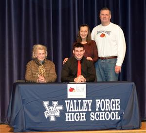 Valley Forge National Signing Day