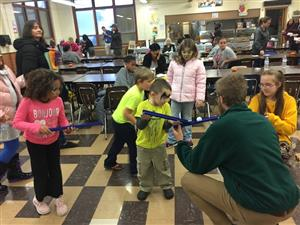 Thoreau Park Elementary students participate in Lights on Afterschool