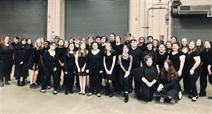 Normandy Choir at Monsters Game