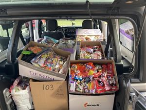 Donations gathered for Operation Gratitude