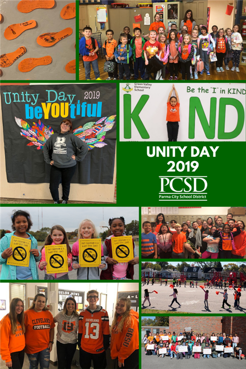 Photos from around PCSD for 2019 Unity Day