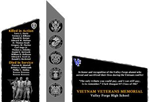 Valley Forge Vietnam Memorial
