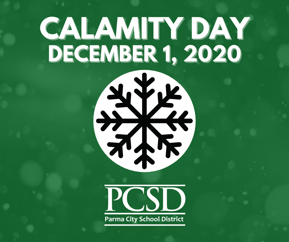 Calamity Day- December 1, 2020