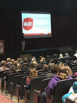 ALICE training at Normandy High School