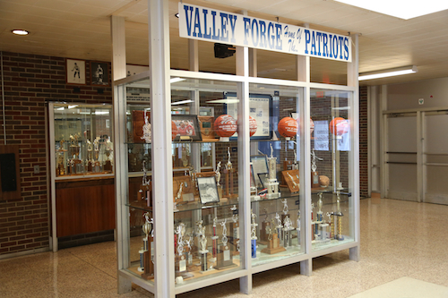 VF Athletic Lobby Trophy Case