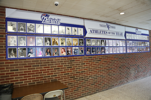 VF Athletes of the Year in VF Athletic Lobby