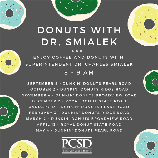 Donuts with Dr. Smialek