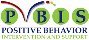 Logo that Says PBIS Positive, Behavior, Intervention, and Support